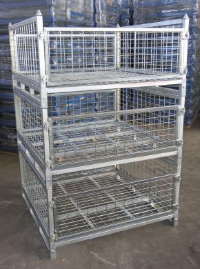 Handling Gear Half Size Stillage Cage Pallet Cages