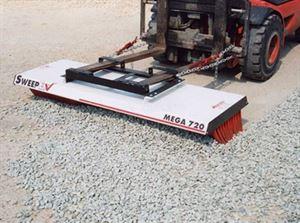 Picture of Forklift Broom Mega