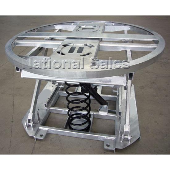 Handling Gear Pallet Leveller Spring Lift With Rotator