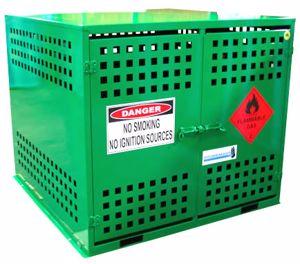 Picture of LPG Storage 24 x 9kg Gas Bottles