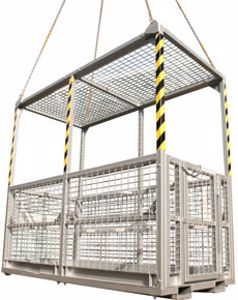 Picture of First Aid Rescue Crane Cages 6 Man (with Roof)