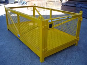 Picture of Double Pallet Crane Goods Cage