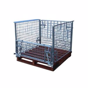 Picture of Pallet Cage With Timber Pallet - In Stock Sydney