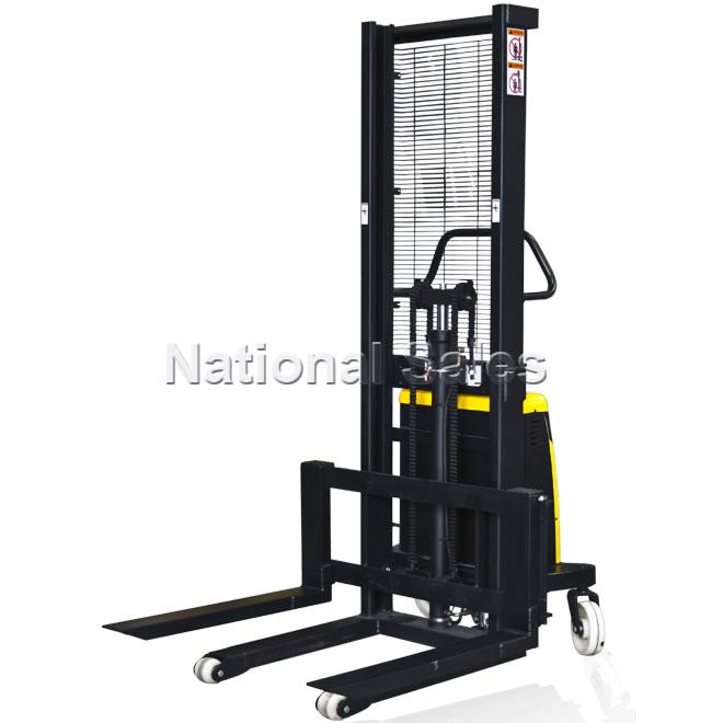 Stationary Load Inverter Pallet Inverter Bulle Pallet: Semi Electric Walkie Stacker