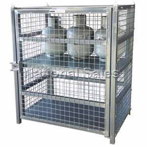 Picture of Gas Bottle Storage Cage 12 X 9 Kg